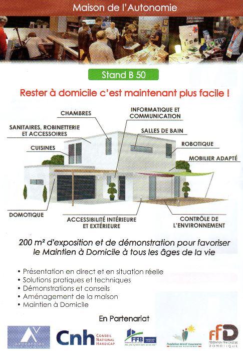 domoseo au salon autonomic marseille dans l 39 espace maison de l 39 autonomie domoseo. Black Bedroom Furniture Sets. Home Design Ideas