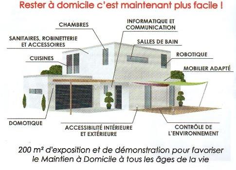 DOMOSEO au salon Autonomic à Marseille dans l'espace Maison de l'Autonomie