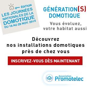 Journées Nationales de la domotique 2015 à Nîmes – Gard avec Promotelec (JND2015 Promotelec)